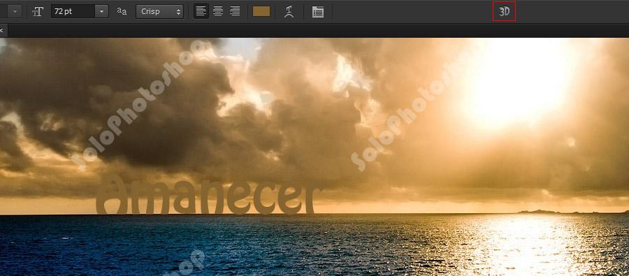 Aplicar efecto 3D al Texto
